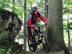 Горный фристайл на велосипедах